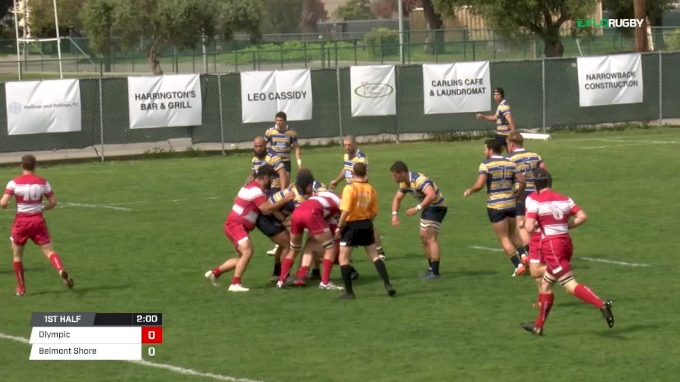 Full Match Replay: PRP Round 7 Belmont Shore vs Olympic Club