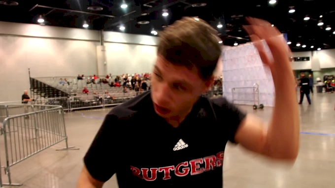 Nick Suriano Came To Vegas To Battle