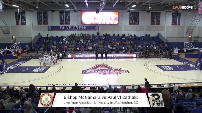 Bishop McNamara (MD) vs. Paul VI (VA) | 2.26.18 | WCAC Girls Semifinals