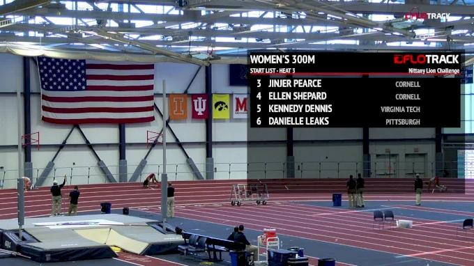 Women's 300m Heat 3
