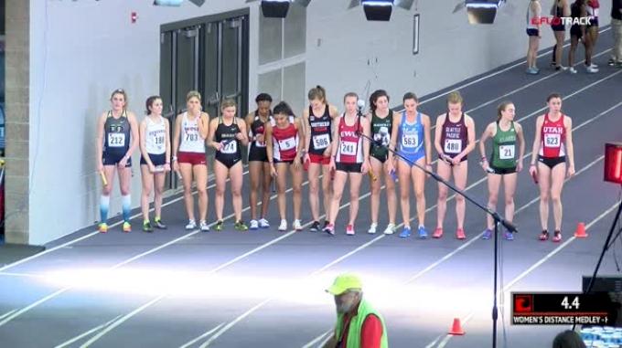 Women's Distance Medley Relay, Heat 1