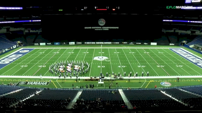 Collinsville H.S., IL at Bands of America Grand National Championships, presented by Yamaha