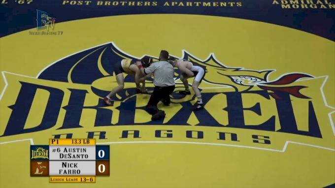 133: Austin DeSanto, Drexel vs Nick Farro, Lehigh