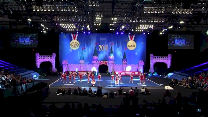 Indiana University [2018 All Girl Division IA Semis] UCA & UDA College Cheerleading and Dance Team National Championship