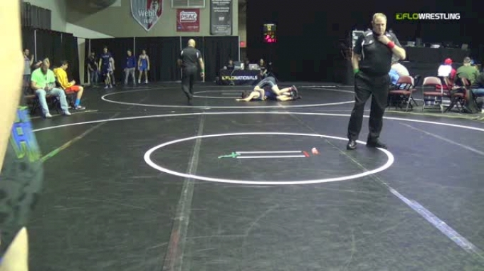 138 lbs Round Of 64 - Michael Warnick, Young Guns Wrestling Club vs Luke Hughes, Galaxy
