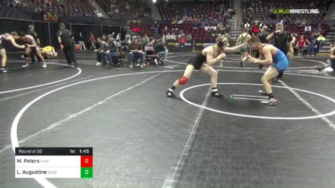138 lbs Round Of 32 - Maxx Peters, Unattached vs Luca Augustine, Quest
