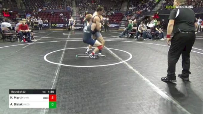 182 lbs Round Of 32 - Kyler Martin, Grain House Grapplers Wrestling Club vs Alex Bielak, McDowell