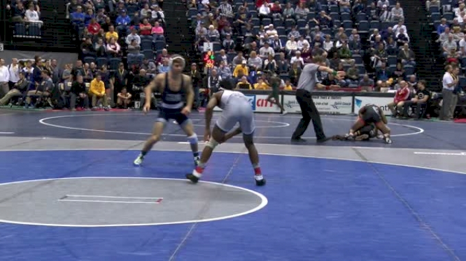 125 lbs Round of 16 - Alonzo Allen, Chattanooga vs Devin Schnupp, Penn State