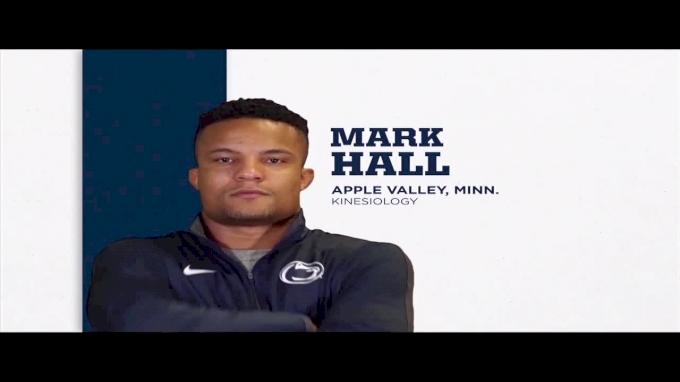 174lbs Dual: Mark Hall, Penn State vs Dylan Barreiro, Kent State