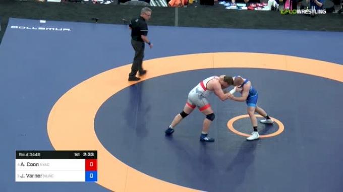 125 kg Final - Adam Coon, NYAC vs Jacob Varner, NLWC