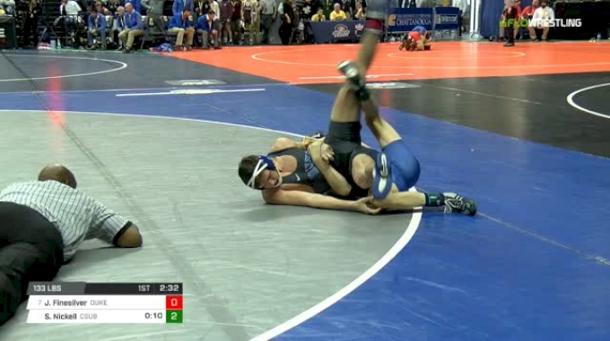 133 lbs Round of 16 - Josh Finesilver, Duke vs Sean Nickell, CSU-Bake