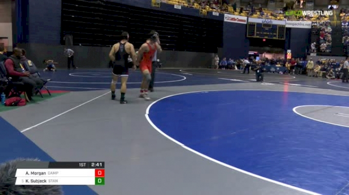 174 lbs Round of 16 - Andrew Morgan, Campbell vs Keaton Subjeck, Stanford