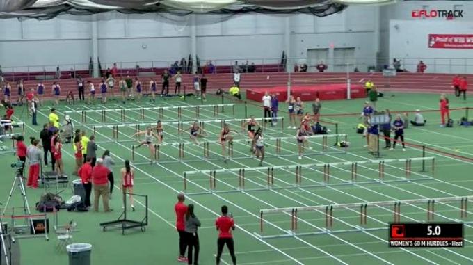 Women's 60m Hurdles, Heat 3