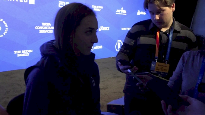 Molly Huddle says winning the NYC Marathon is not a reasonable goal, had a great buildup