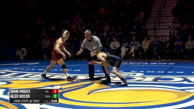 149 lbs Alex Kocer, SDSU vs Blayne Briceno, ISU