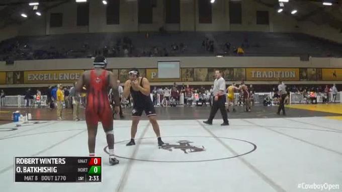 285 Finals - Robert Winters, Unattached vs Odgerek Batkhishig, Northwest Kansas Technical College