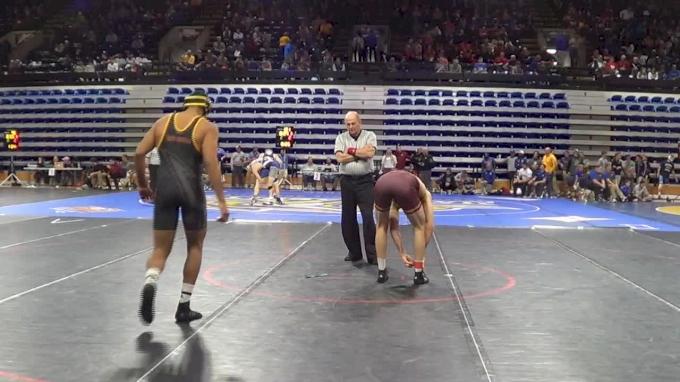 174 lbs Zahid Valencia, Arizona St vs Colin Carr, Minn