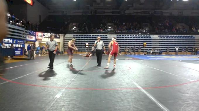 157 lbs Final - Tyler Berger, Neb vs Jake Short, Minn
