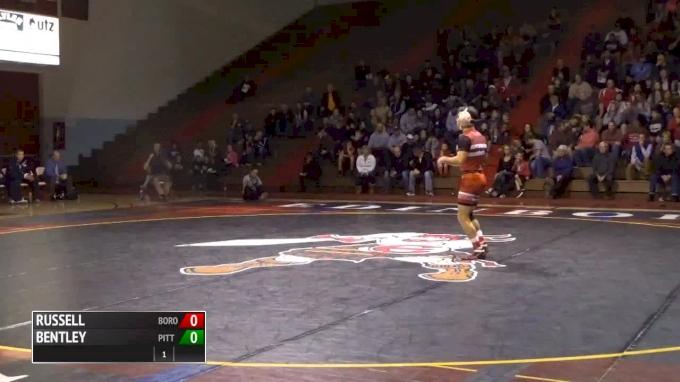 125 lbs Sean Russell, Edinboro vs LJ Bentley, Pitt
