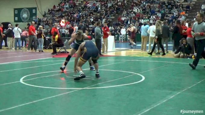 157 lbs M, Dayton Garrett vs Al Ciccitto, Ithaca