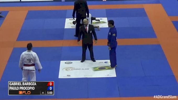 e0c071608 Gabriel Barbosa vs Paulo Procopio 2016 Rio Grand Slam