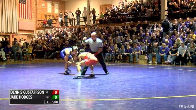 149 lbs Max Thomsen, UNI vs Solomon Chishko, VT