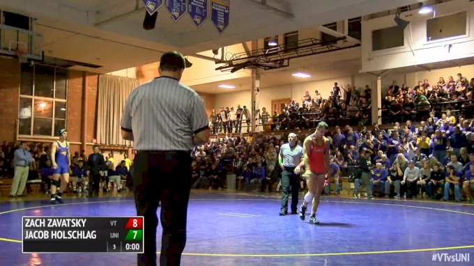 197 lbs Jared Bartel, UNI vs Jared Haught, VT