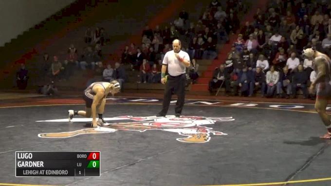 149 lbs Pat Lugo, Edinboro vs Laike Gardner, Lehigh