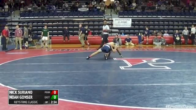 125 Finals - Nick Suriano, Penn State vs Noah Gonser, Eastern Michigan
