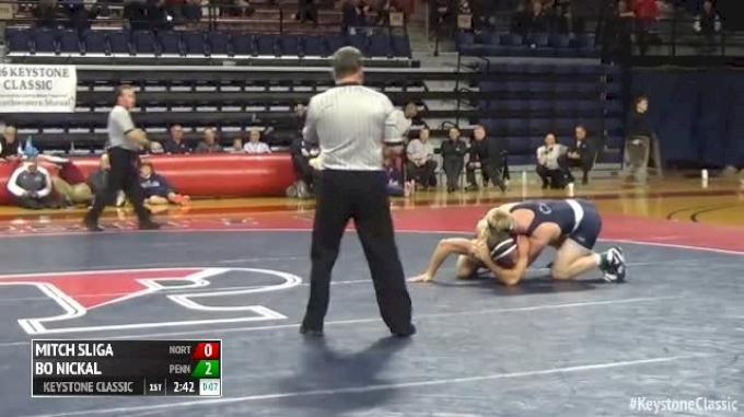 184 Finals - Mitch Sliga, Northwestern University vs Bo Nickal, Penn State
