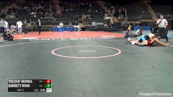 285 Finals - Youssif Hemida, Maryland vs Garrett Ryan, Columbia