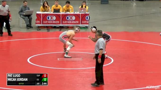 149 Finals - Pat Lugo, Edinboro vs Micah Jordan, Ohio State