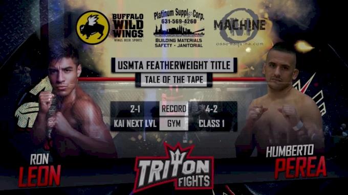 Ron Leon vs. Humberto Perea KTFO & ACC: Worlds Collide Replay