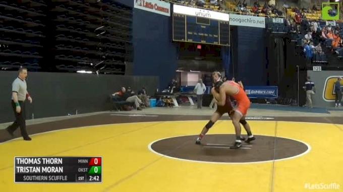 141 Consi of 4 - Thomas Thorn, Minnesota vs Tristan Moran, Oklahoma State