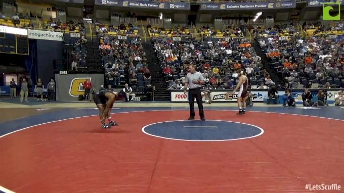 174 lbs Semifinal - Mark Hall, PSU vs Ryan Preisch, Lehigh