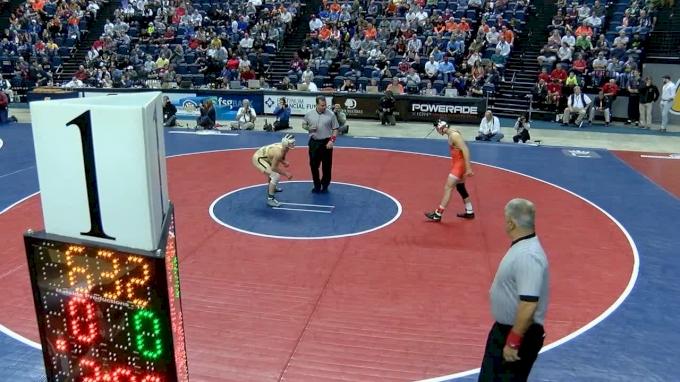 133 lbs Final - Kaid Brock, Ok State vs Scotty Parker, Lehigh