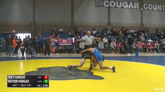 170 Quarter-Finals - Joey Griego, Sultana vs VIctor Vargas, Clovis