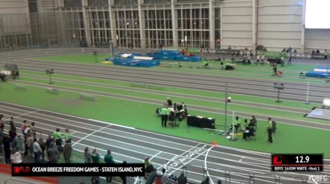 Boy's 1600m White, Round 1 Heat 1