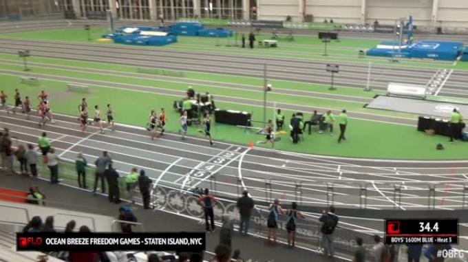 Boy's 1600m Blue, Round 1 Heat 3