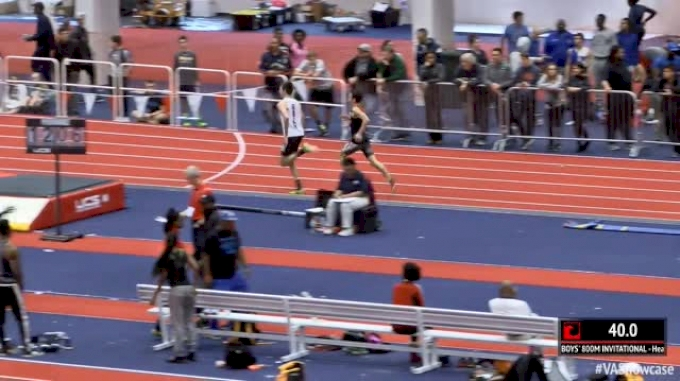 2017 Throwback: Boy's 800m - Brandon McGorty 1:50.85!