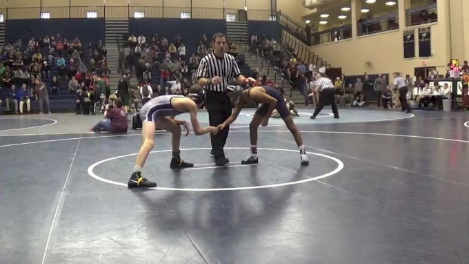 106 lbs Semifinal - Kurt Mchenry, St. Paul's School vs Andrew Clark, Collingswood