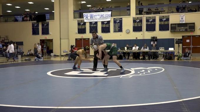 160 lbs Final - Josh Stillings, Pennridge vs Eric Hong, North Allegheny