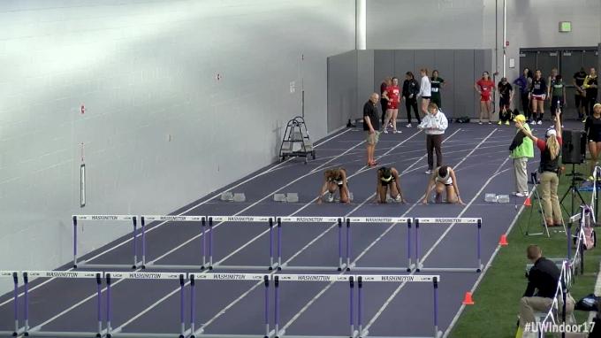 Women's 60m Hurdles, Heat 6 - Round 1