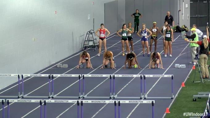 Women's 60m Hurdles, Heat 4 - Round 1