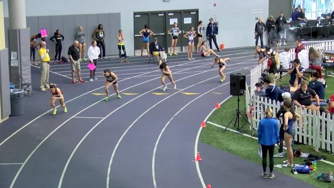 Women's 600m, Heat 3