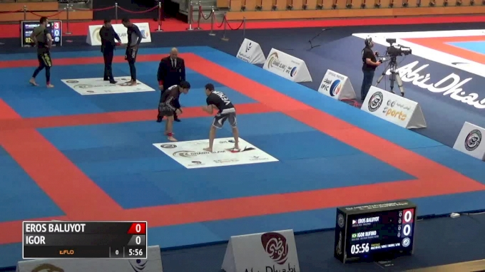 EROS BALUYOT VS IGOR RUFINO 2017 Abu Dhabi Grand Slam No-Gi