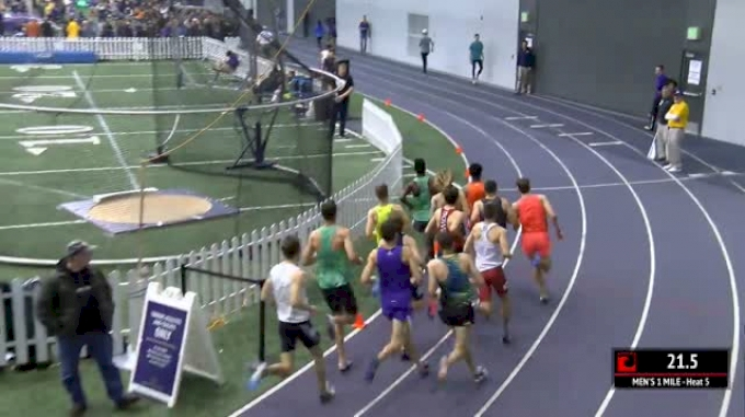 Men's Mile, Round 1 Heat 5