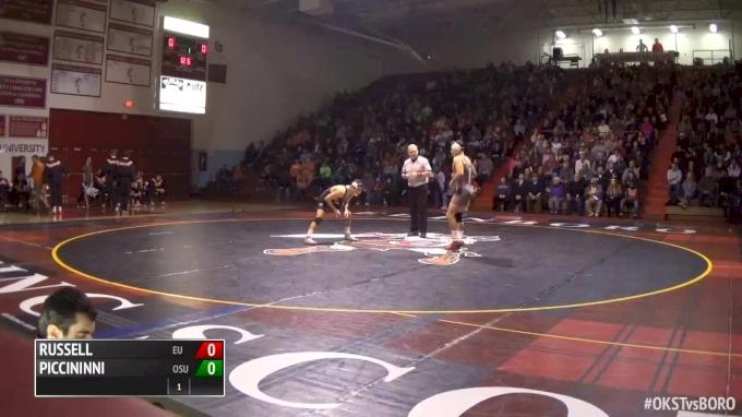 125 lbs Nick Piccininni, Oklahoma State vs Sean Russell, Edinboro