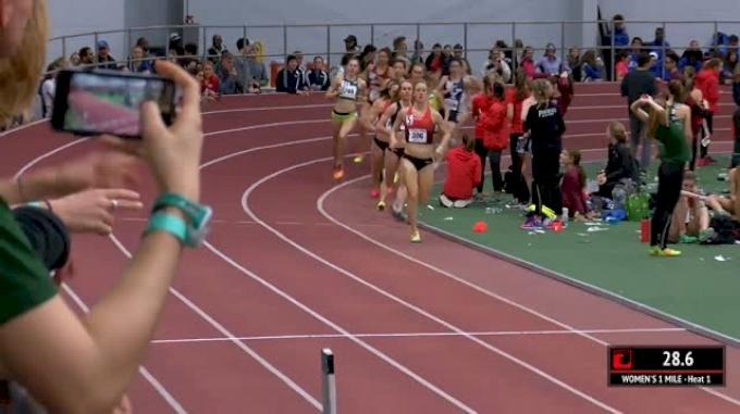 Women's Mile, Round 1 Heat 1 - 4:24s For Bowerman Track Club!