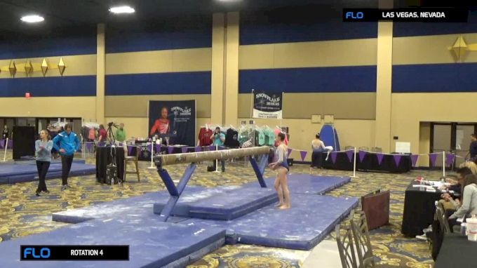 Addison Donis - Beam, Wallers' GymJam - 2017 Brestyan's Las Vegas Invite.